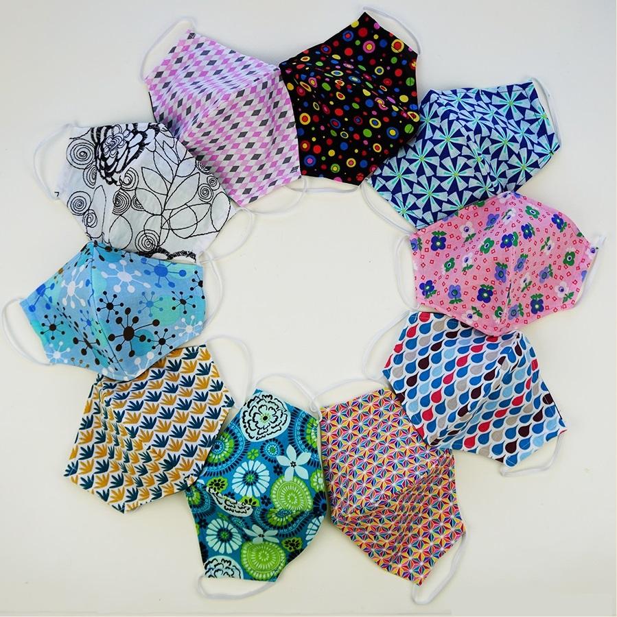 Как сшить многоразовую маску для лица из ткани своими руками
