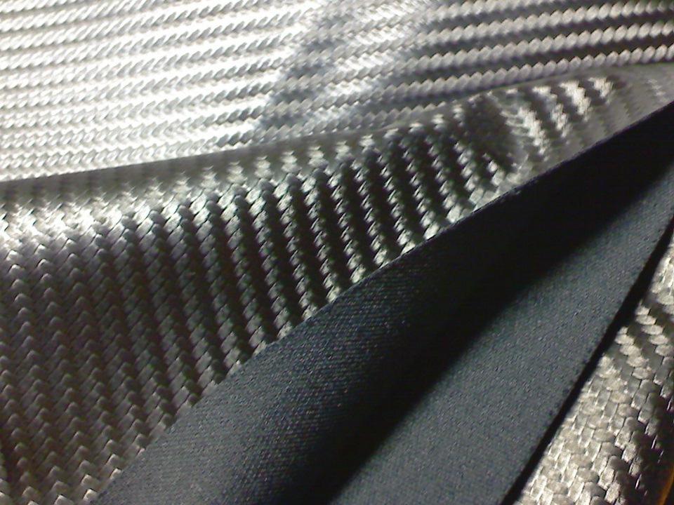 Из чего делают ткань карбон и где используется этот материал?