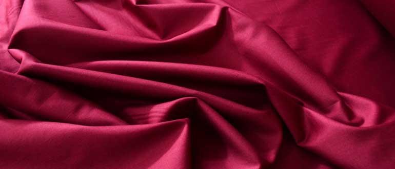Из чего делают ткань мако-сатин, каковы ее свойства и где она используется?