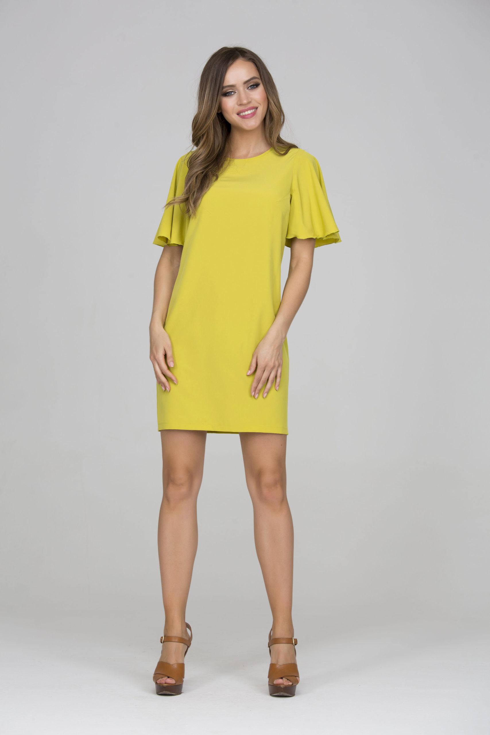 Платье прямой силуэт45