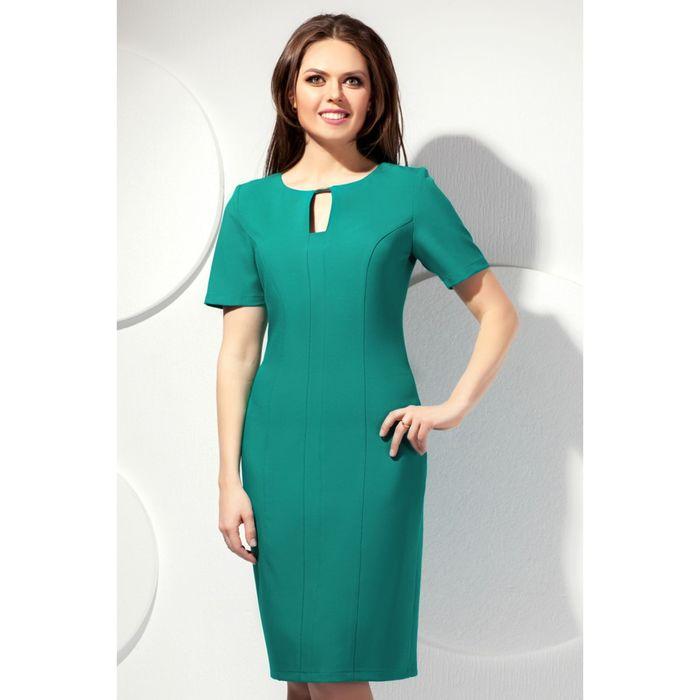 Полуприлегающее платье2