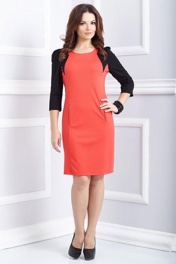 Полуприлегающее платье32
