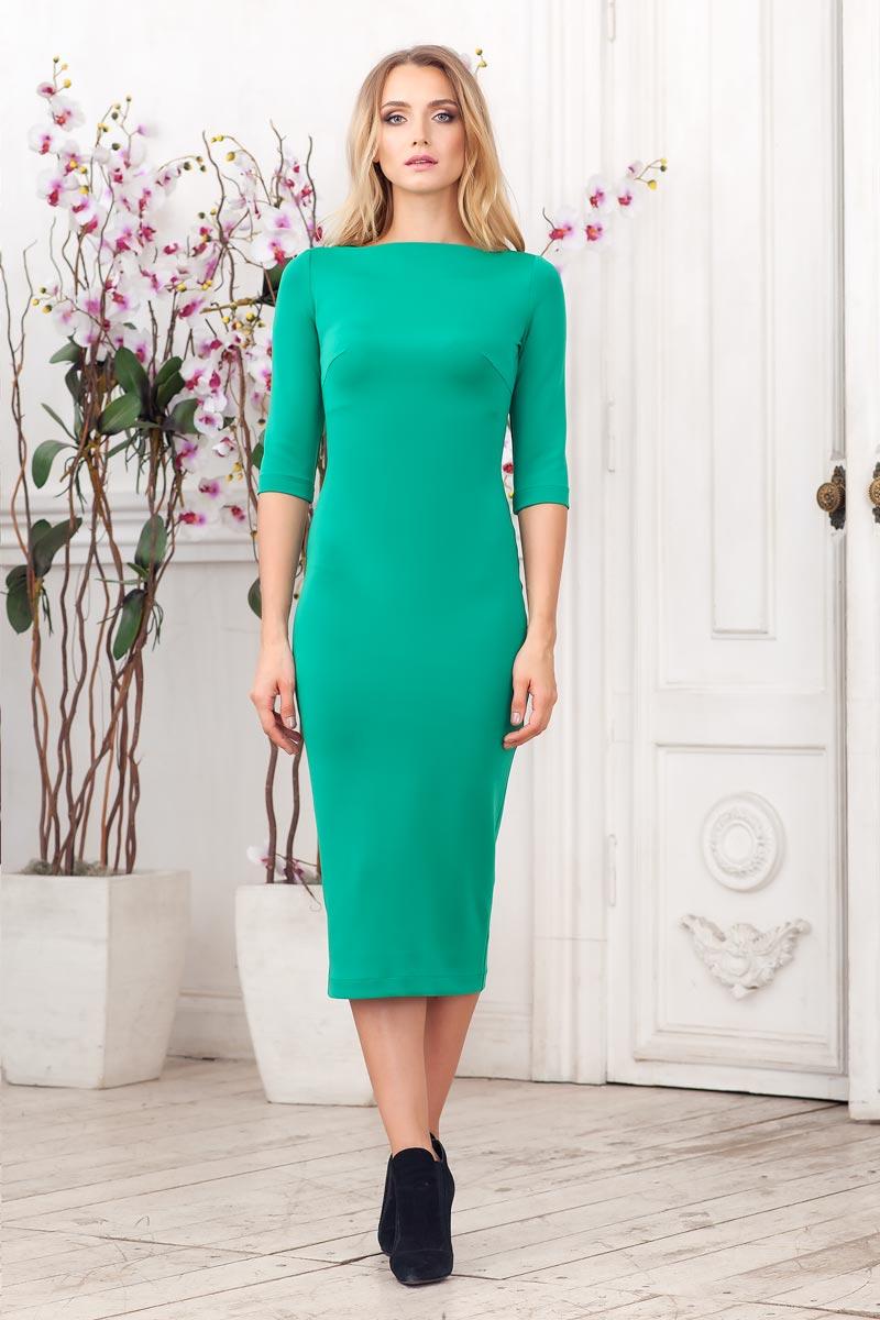 Прилегающее платье2