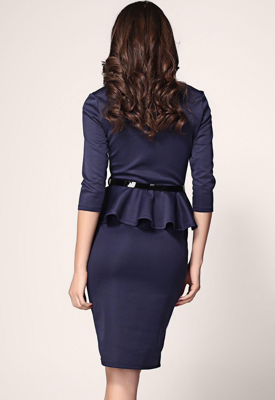 Приталенное платье2