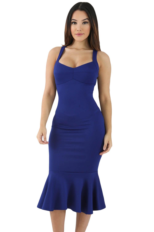 Приталенное платье4