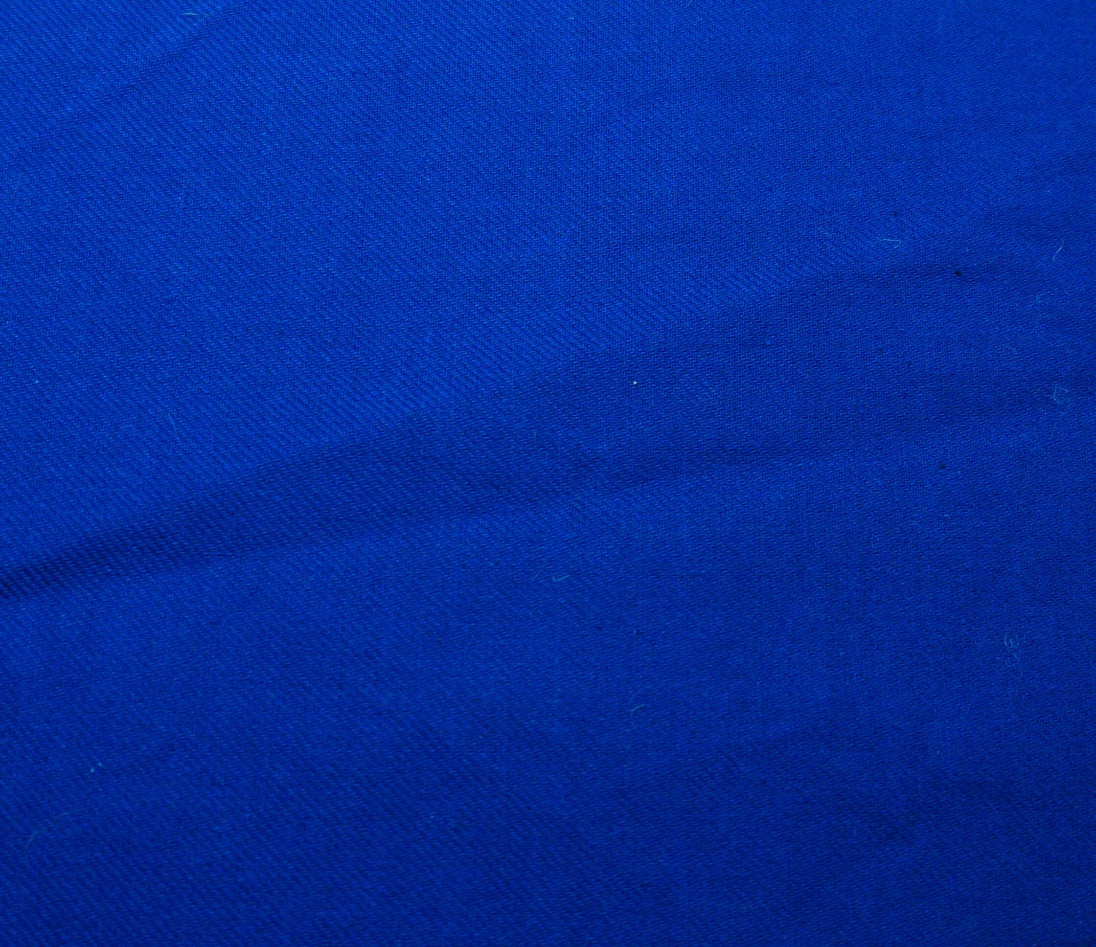 Ткань синяя диагональ