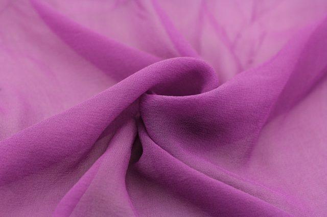 Каковы свойства ткани жоржет? Где и для чего она применяется?