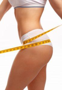 Измерение бедер женщин