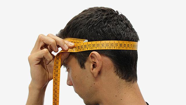 Размер мужской головы