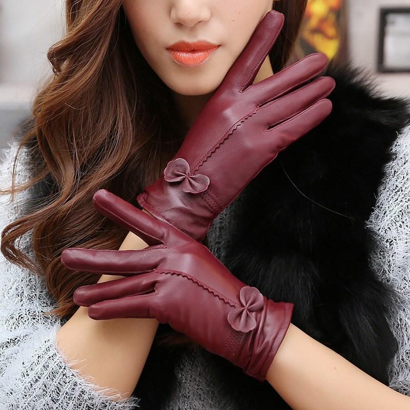 Женские перчатки1
