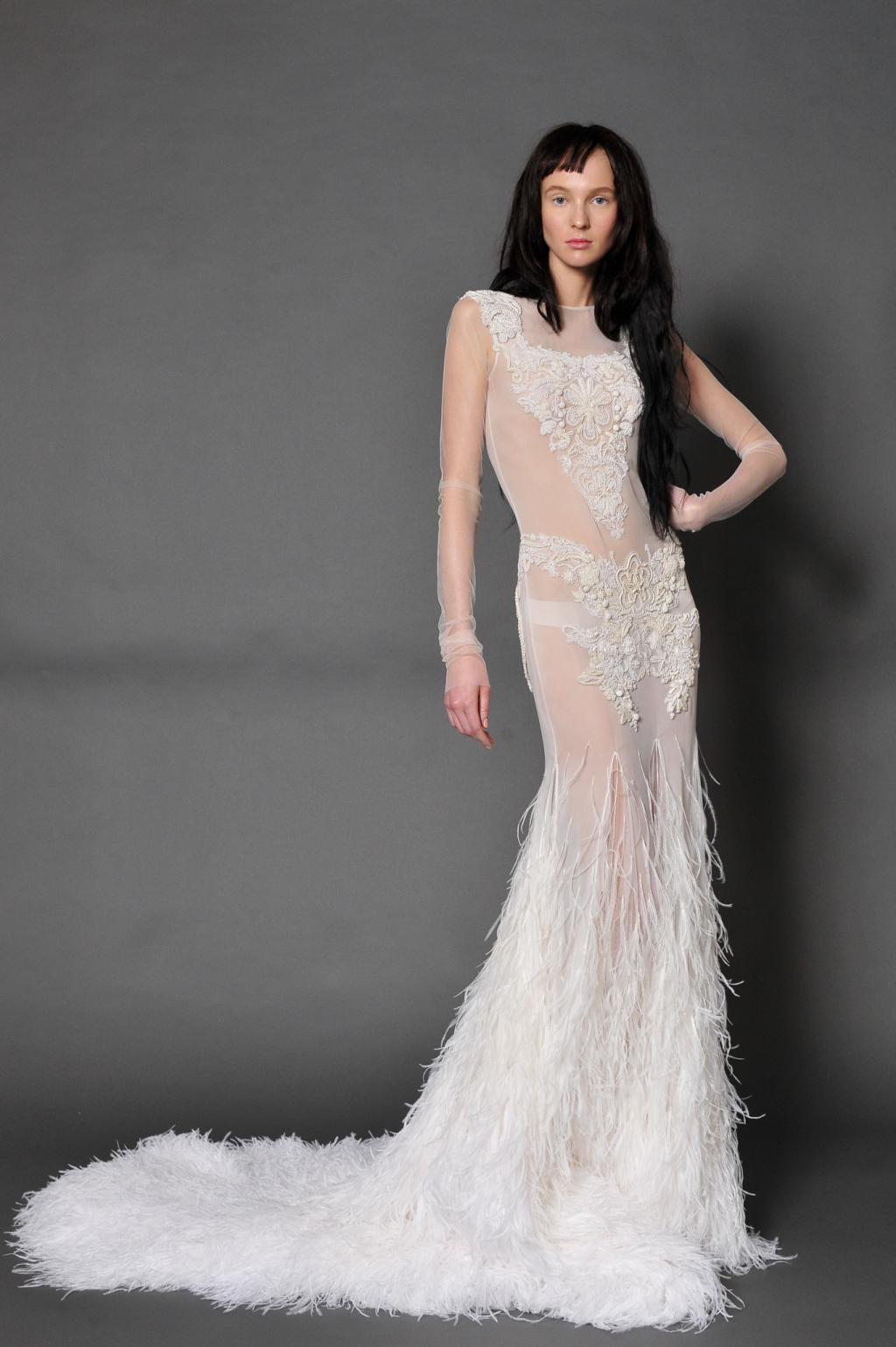 Свадебное платье Вера Вонг9